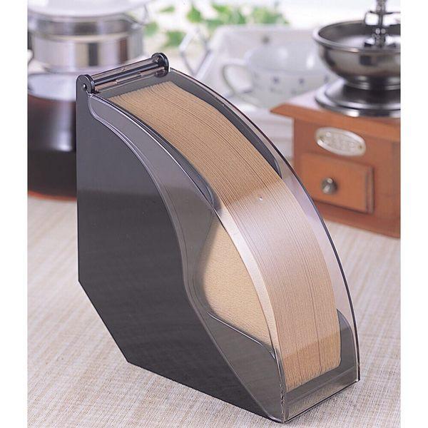 下村企販 防塵咖啡濾紙收納盒 日本製 濾紙盒 濾紙架 可裝錐形扇形 手沖咖啡必備