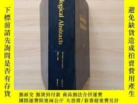 二手書博民逛書店Biological罕見abstracts 1990 volume 89 Number 9 英Y302069