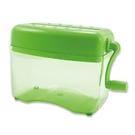 《享亮商城》Q04801 青蘋綠色 直碎型手動式碎紙機 ABEL