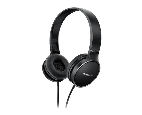 Panasonic HF300輕量繽紛耳罩式藍牙耳機-黑 RP-HF300MGCK