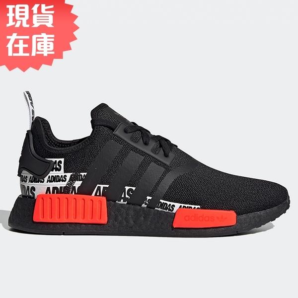 【現貨】ADIDAS NMD_R1 男鞋 慢跑 休閒 BOOST 串標 緩衝 黑【運動世界】FX6794
