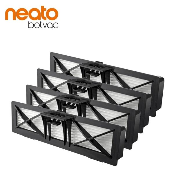 【美國 Neato】Botvac D7 原廠專用高效能濾網(4入裝)