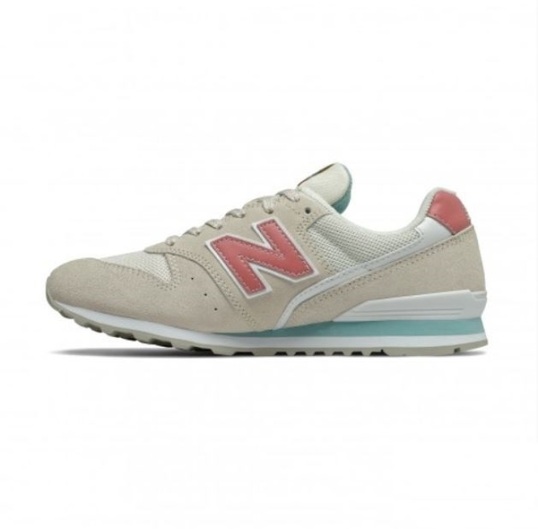 New Balance 女款淺咖啡色復古運動慢跑鞋-NO.WL996WE