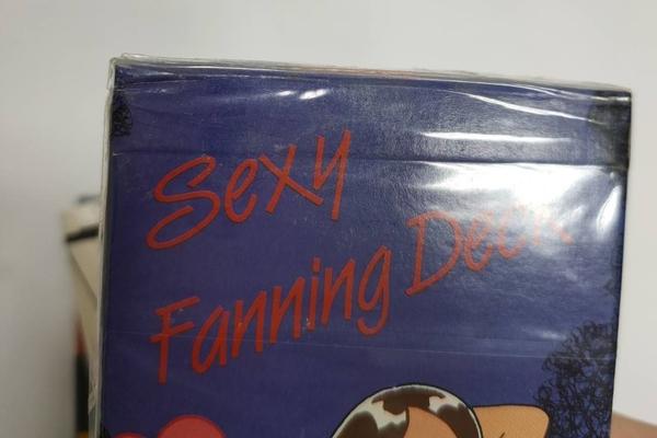 【USPCC 撲克】SEXY FANNING DECK(性感魔法牌2) *牌盒有小壓*