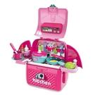 Chef Little Bag 玩具餐具背包組 粉色 TOYeGO 玩具e哥