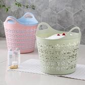 大號塑料臟衣籃衣簍浴室洗衣籃家用玩具衣物收納籃臟衣服收納筐歐韓 館