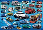 【拼圖總動員 PUZZLE STORY】車輛大集合 日本進口拼圖/apollo社/兒童/75P/紙板
