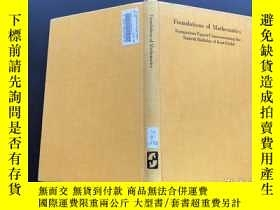 二手書博民逛書店Foundations罕見of MathematicsY171500 看圖 看圖