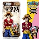 【航海王】iPhone 6 /6s Plus (5.5吋) 木紋系列 防摔氣墊空壓保護套(魯夫&喬巴)