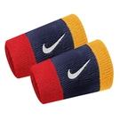 Nike Swoosh DW [N0001586428OS] 腕帶 加長 運動 打球 健身 吸濕 排汗 乾爽 2入 藍