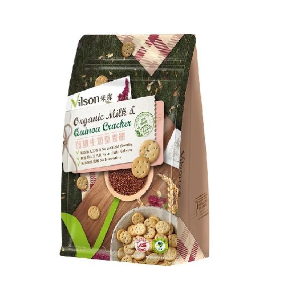 【米森 vilson】有機牛奶藜麥餅(20g/5包)/盒