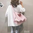 高級感尼龍包包女新款大容量托特包休閒港風時尚單肩斜背包潮【快速出貨】