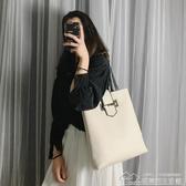 包包女手提包韓版學生托特包百搭側背包大包 【快速出貨】