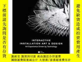 二手書博民逛書店Interactive罕見Installation Art &