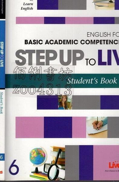 二手書R2YB《STEP UP TO LIVE 6 Student s Book