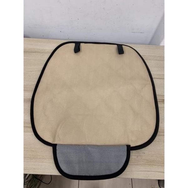 汽車坐墊透氣防滑免綁通用款坐墊套座椅保護墊(50*50/@777-11044)