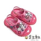 【樂樂童鞋】【台灣製現貨】MIT可愛兒童拖鞋-粉 C026-1 - 現貨 台灣製 小童鞋 拖鞋 男童鞋 女童鞋