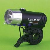 *阿亮單車*ILUMENOX 1W高亮度前燈 1800燭光(黑色鈦色)SS-SL122W《B27-329》