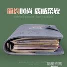 手賬本活頁筆記本軟皮本子A6大學生精致網紅手帳本復古日系A5活頁本可拆卸扣環