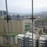 麗水訂做飄窗凸窗高樓陽臺兒童隱形防護網不銹鋼絲防盜安全網護欄