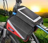 山地自行車前梁包馬鞍包上管包車前包騎行裝備配件公路車手機    易家樂