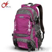 登山包 旅游背包男旅行包大容量雙肩包休閒運動旅行背包女輕便戶外登山包 igo阿薩布魯