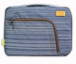 新竹【超人3C】TEE 時尚雙配色 13.3吋 筆電萬用包(藍) 可手提、肩背或側背三用
