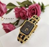 【雪曼國際精品】Chanel H0001香奈兒首映系列premiere手錶M尺寸~二手商品(8.8成新)