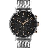 TIMEX 天美時 時尚三眼計時手錶 (TXTW2T11400)