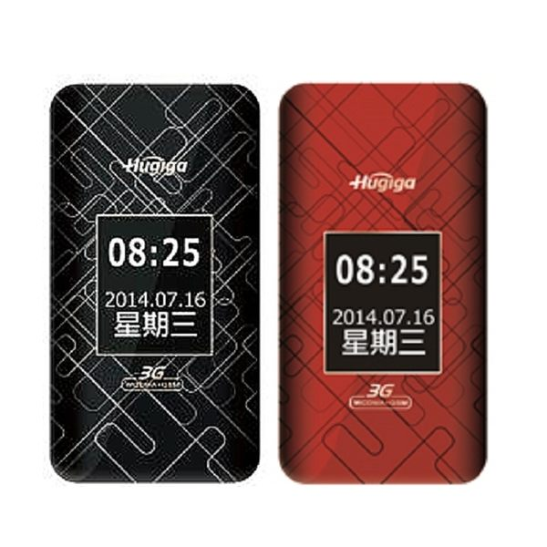 Hugiga HGW990 3G+2G雙卡雙待翻蓋機~送原廠配件包