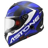 ASTONE安全帽,GTB800,AO11/消光黑藍
