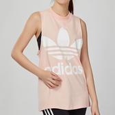 Adidas Originals BIG TREFOIL Tank 女款 粉色 無袖 背心 CE5583