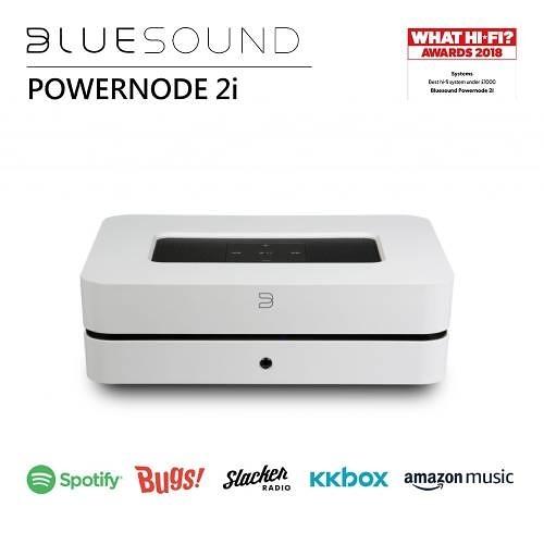 【結帳再折+24期0利率】BLUESOUND POWERNODE 2i 無線串流音樂擴大機 公司貨