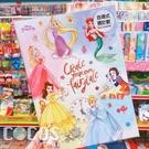 正版 迪士尼 公主系列 自填式週計畫本16K 手帳本 行事曆 記事本 COCOS JJ020