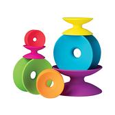 美國 FatBrain 七彩疊盤積木 感統玩具|益智玩具
