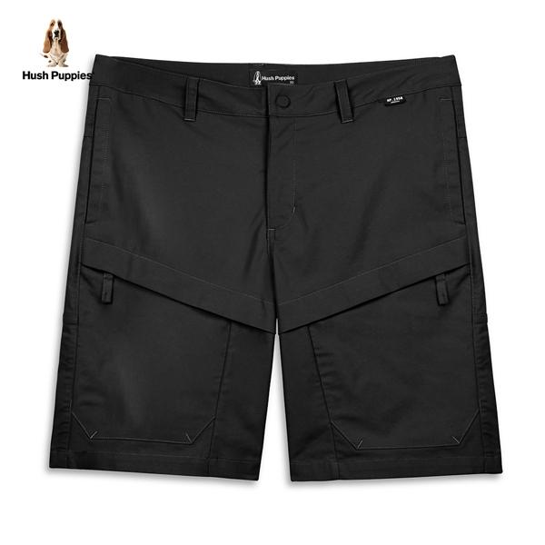 Hush Puppies 短褲 男裝素色貼袋休閒短褲