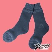 【PolarStar】羊毛保暖雪襪『深藍』P18609 露營.戶外.登山.保暖襪.彈性襪.休閒襪.長筒襪.襪子