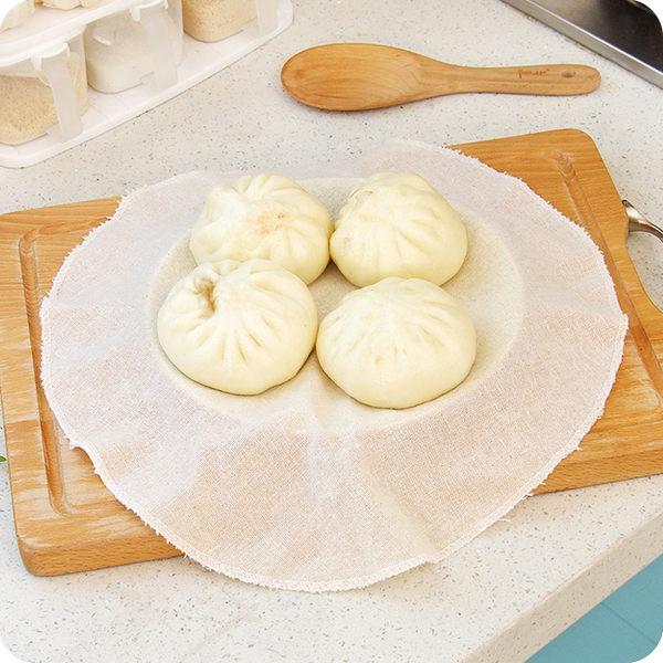 廚房用品棉麻蒸籠布 不粘蒸餃子布蒸籠墊籠屜布 透氣蒸包子鏝頭布