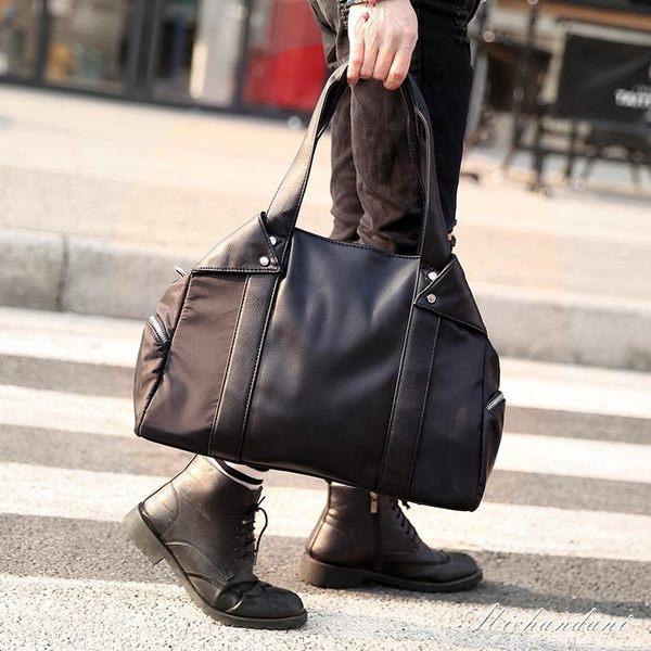 防水男包包側背包男士手提包休閒包斜背包潮旅行包電腦包 igo黛尼時尚精品