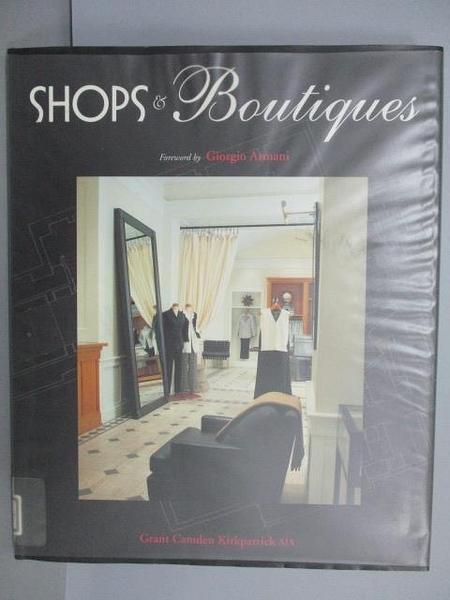 【書寶二手書T8/設計_FN2】Shops & Boutiques