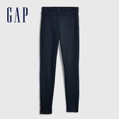 Gap女裝 高腰休閒褲子女士緊身褲 莫代爾九分褲女 357398-經典海軍藍