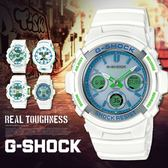 【人文行旅】G-SHOCK   AWG-M100SWG-7ADR 太陽能電波錶