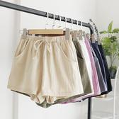 VK精品服飾 爆款棉麻寬口褲顯瘦伸縮舒適單品短褲