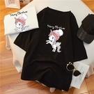 加大尺碼上衣T恤女2105拼#M-5XL...