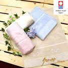 CR玫瑰園毛巾 藍