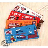 帆布 鉛筆盒 筆袋 文具袋 文具盒 倫敦衛兵造型 批發禮品 畢業禮物 開學商品 造型顏色隨機(78-4265)