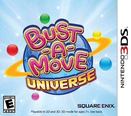 3DS Bust-a-Move Universe 立體益智泡泡龍(美版代購)