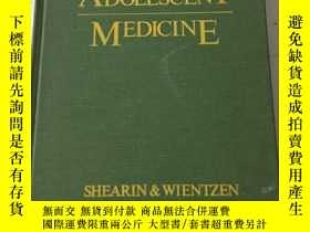 二手書博民逛書店Clinical罕見Adolescent MedicineY23