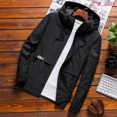 【YPRA】男士外套春季夾克男修身休閒上衣