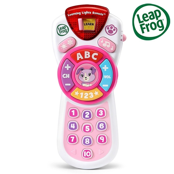 LeapFrog 跳跳蛙 Scout's Learning Lights Remote Deluxe 新版學習遙控器-Violet[衛立兒生活館]